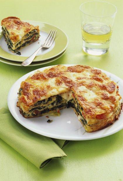 Gratin de lasagnes aux blettes