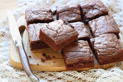 Brownie gourmand