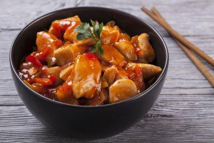 Fricassée de poulet sauce aigre-douce
