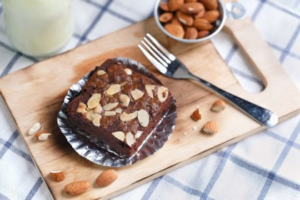 Gâteau au chocolat et frangipane