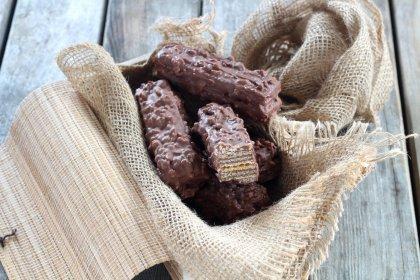Barres au chocolat et riz soufflé