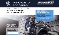 Le Metropolis à l'essai dans les concessions Peugeot