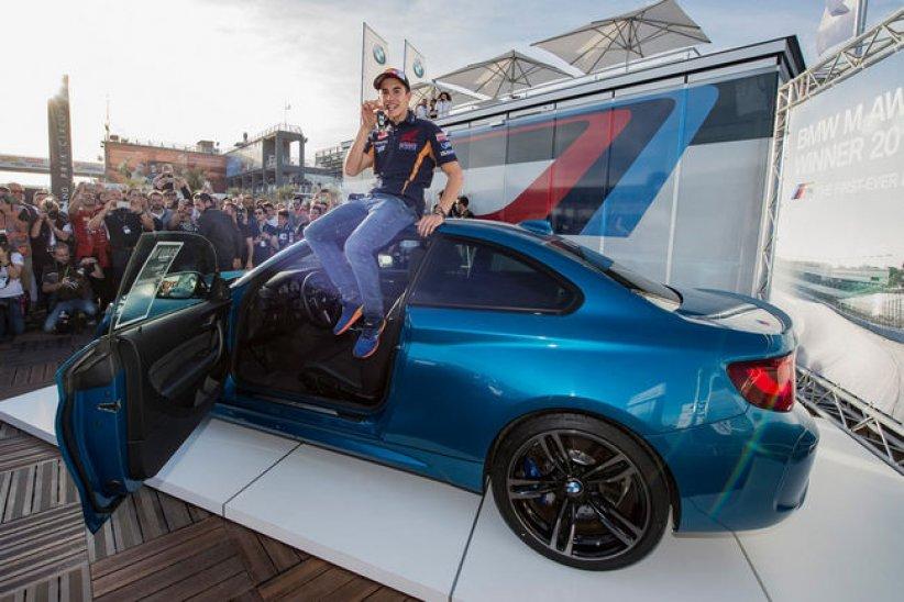 Une BMW M2 pour Marc Marquez