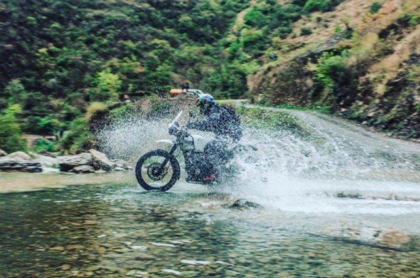 Royal-Enfield-Himalayan : Crédits : The Beat Box Machine - Madras Motorcyle