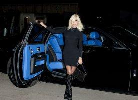 Une Rolls-Royce Ghost pour Versace
