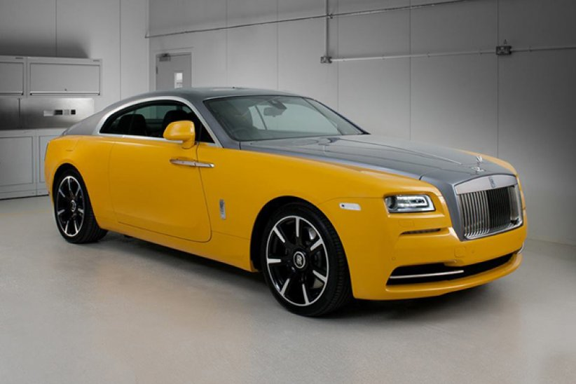 Rolls-Royce Wraith Golden Yellow