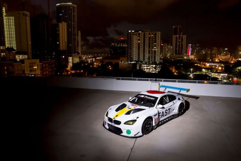 BMW Art Car par John Baldessari