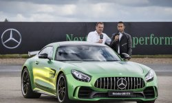 La Mercedes-AMG GT R à Goodwood