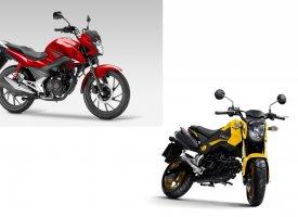 Honda 2017 : le MSX reçoit l'ABS et la CB125F le CBS