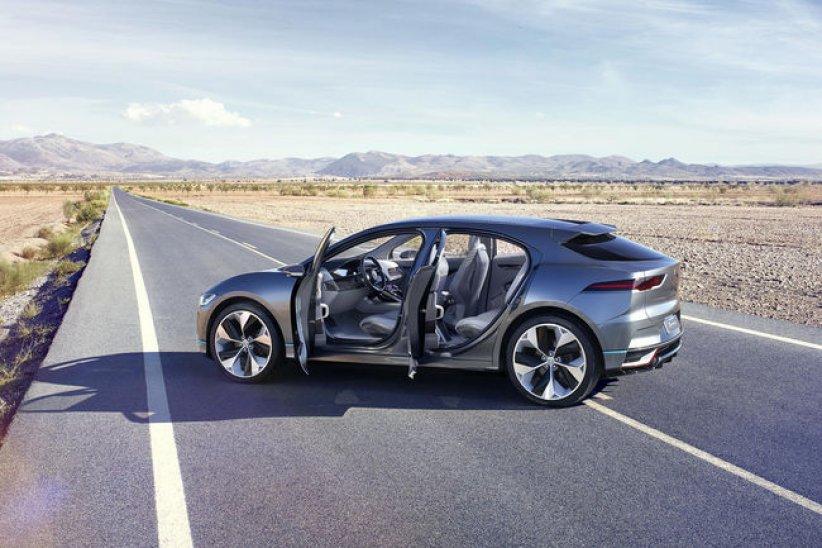 Jaguar I-Pace concept : super SUV électrique