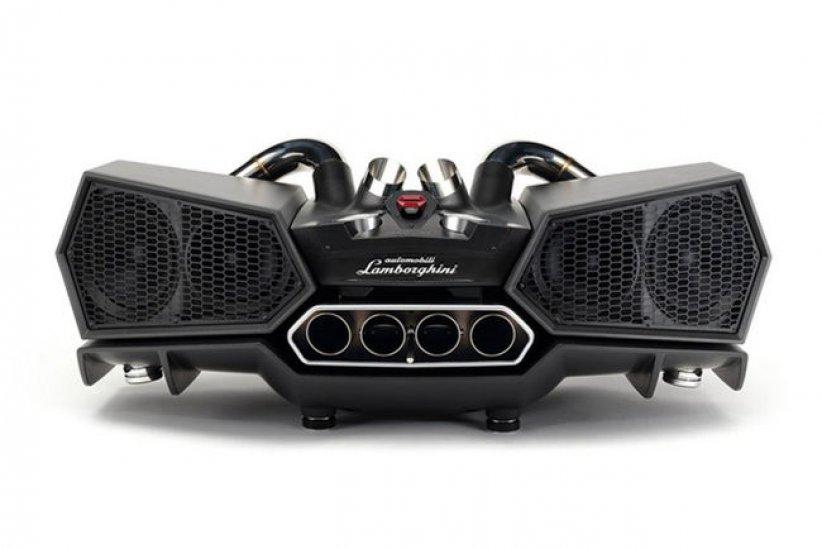 Esavox Lamborghini : design et son