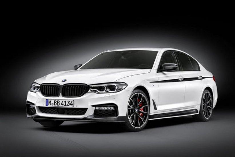 BMW Série 5 : packs M Performance