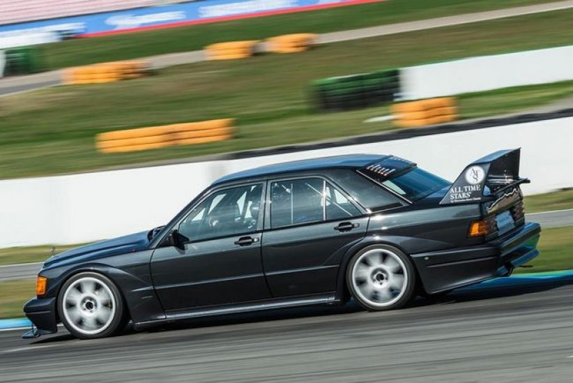Trackday : Mercedes 190 E Evo II