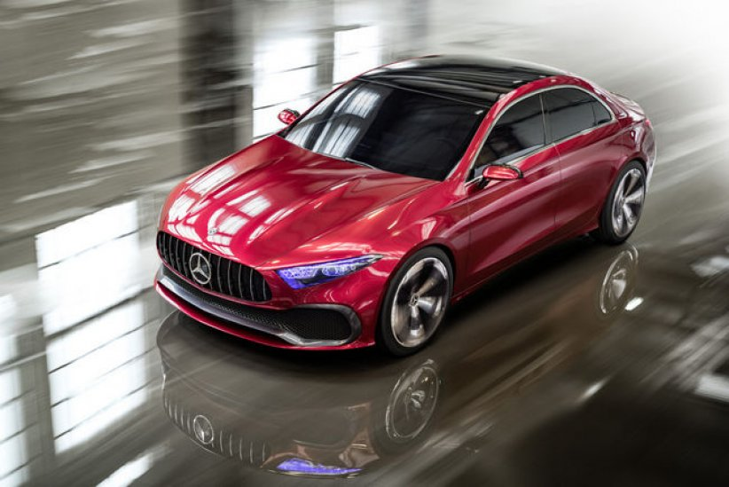 Mercedes-Benz Concept A berline