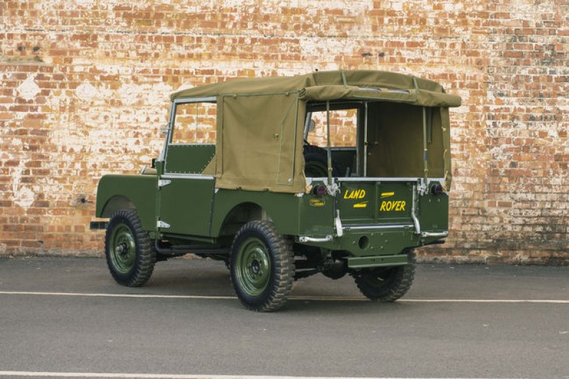 Land Rover Series I Reborn