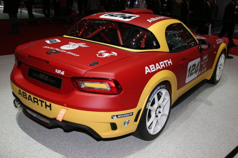 Abarth : la Fiat 124 en mode Rallye