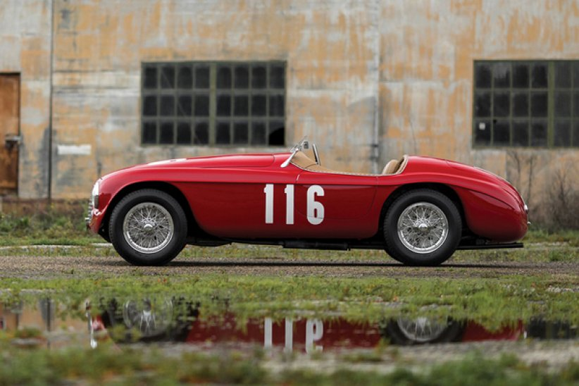 Enchères : Ferrari 166 MM Barchetta