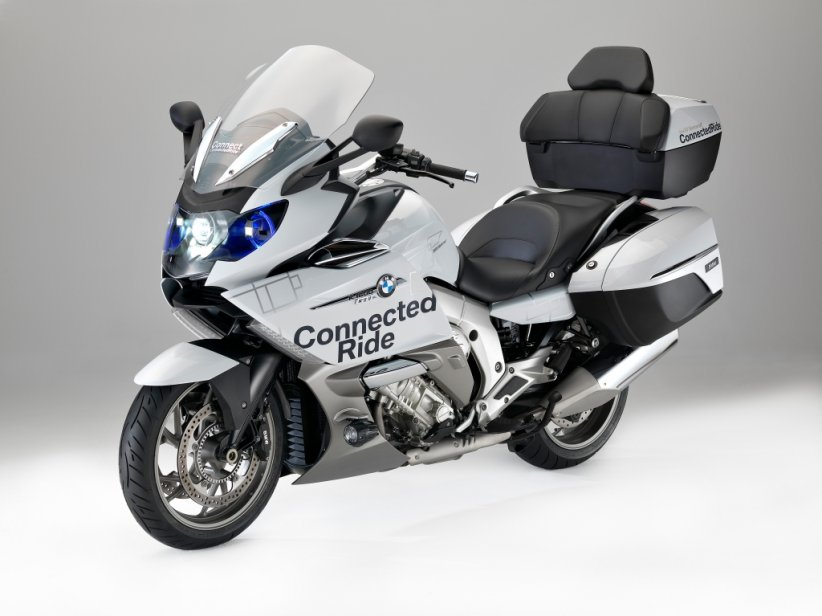 Concept BMW K1600 GTL Laser Light - CES 2016