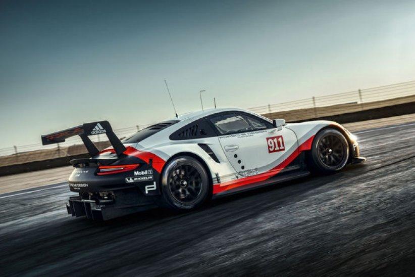 Compétition : Porsche 911 RSR 2017