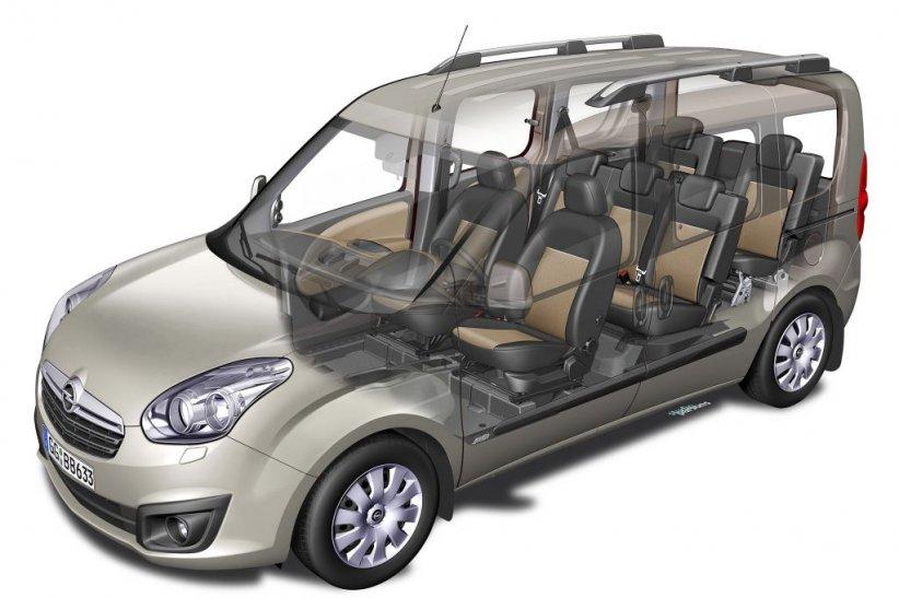 Opel Combo Tour : dès 22 140 euros