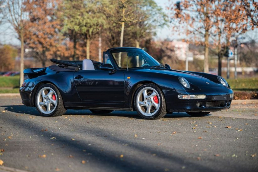 Porsche 911 Turbo Cabriolet 1995
