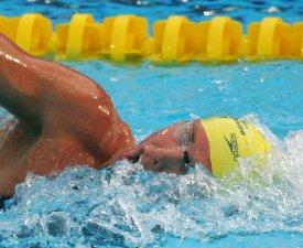 Un champion de natation arrêté par la police