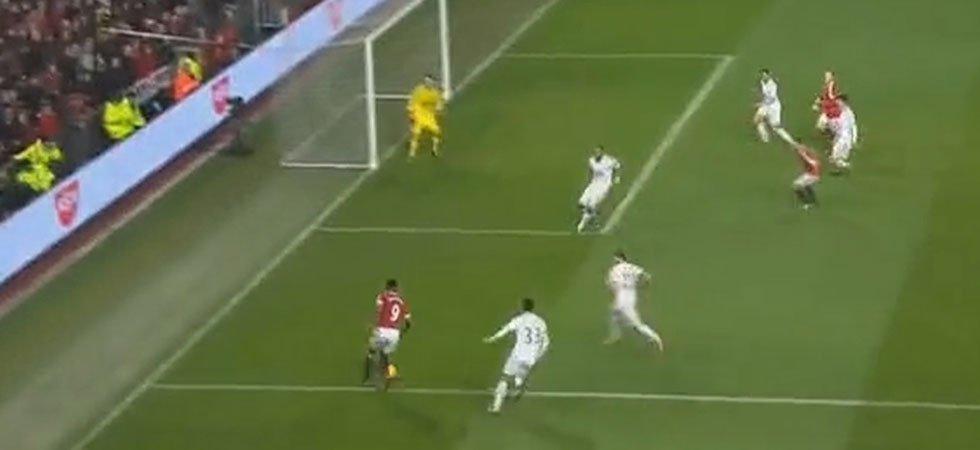 La Madjer somptueuse de Rooney contre Swansea