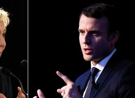 Présidentielle 2017 : Emmanuel Macron talonne Marine Le Pen (sondage BVA-Orange)
