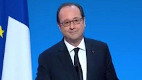 Tandis que les candidats à la présidentielle s'écharpent sur les programmes, les sondages, les alliances possibles ou non, les débats télévisés, bref sur tout ou presque, François Hollande retrouve un air guilleret. Connu pour son sens de l'humour, le che