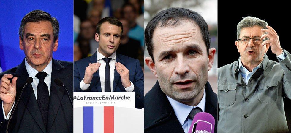 Présidentielle : Fillon ne convainc pas les Français mais fédère à droite, Macron recule, Hamon s'impose (BVA-Orange-La Tribune)