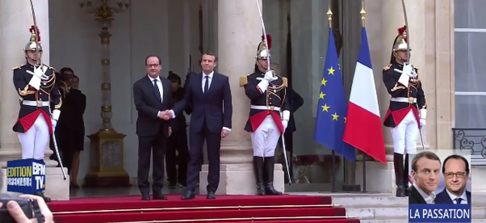 Passation de pouvoir Hollande-Macron : le direct