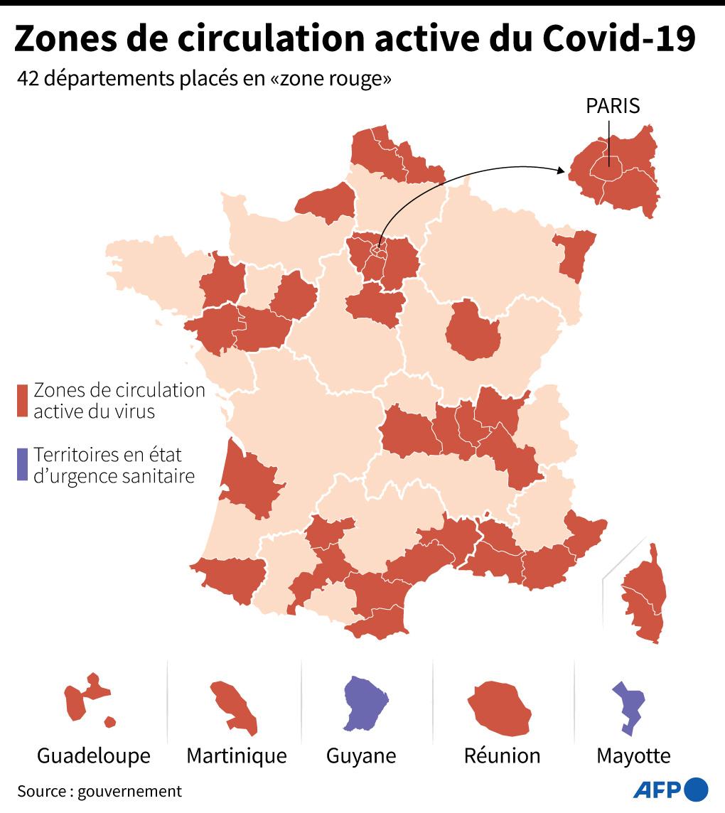 Coronavirus : La France enregistre un nouveau record de contaminations