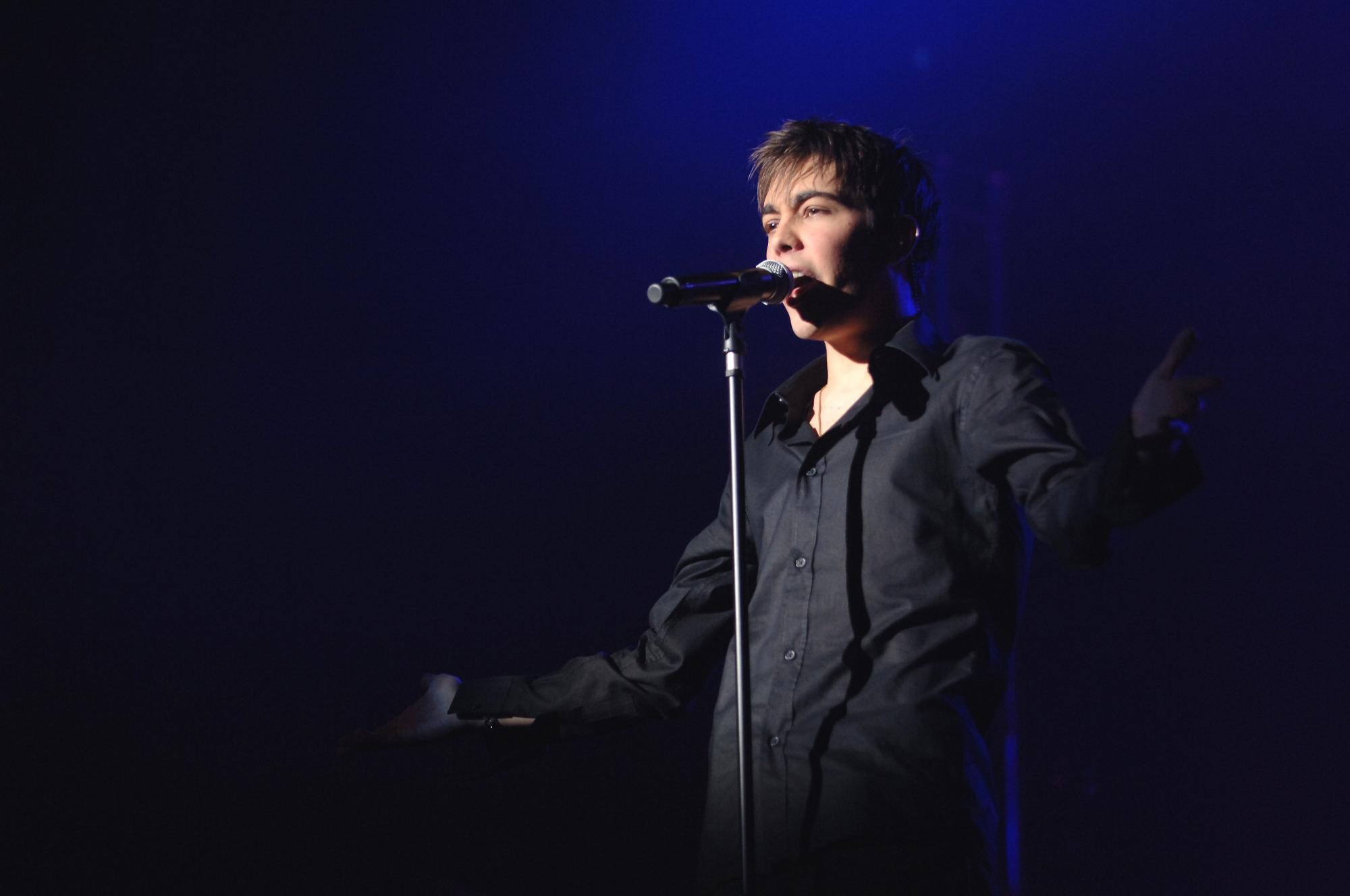 Au Zénith, Patrick Fiori chantera une chanson inédite de Grégory Lemarchal