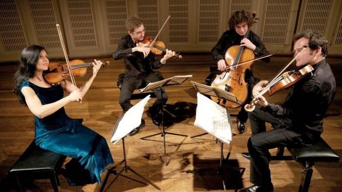 L'intégrale des quatuors de Beethoven par le Quatuor Belcea