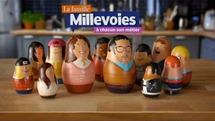La famille Millevoies, à chacun son métier