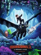 Dragons 3 : Le monde caché monciné Anglet Salles de cinéma