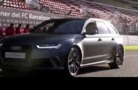 Audi Driving Experience with FC Barcelona Players