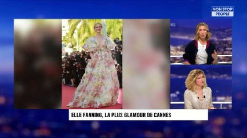 Cannes 2019 : Elle Faning la plus glamour (Exclu Video)