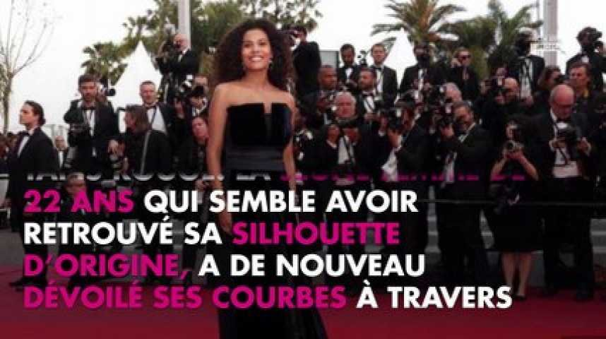 Tina Kunakey affiche son incroyable silhouette après son accouchement