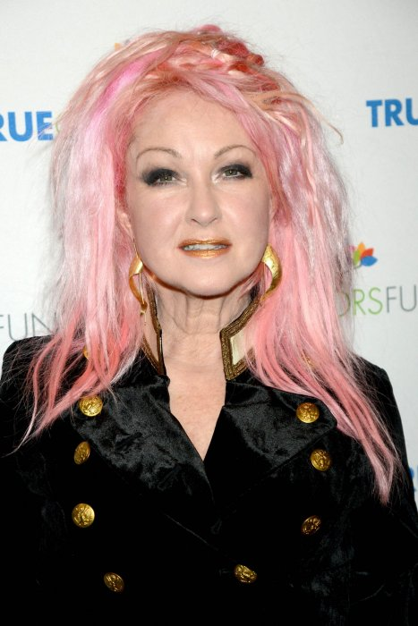 Cyndi Lauper au Beacon Theatre de New York le 5 décembre 2015.