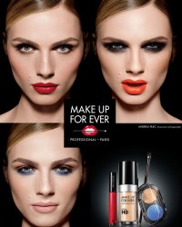 Andreja Pejic, visage de la nouvelle campagne Make Up For Ever