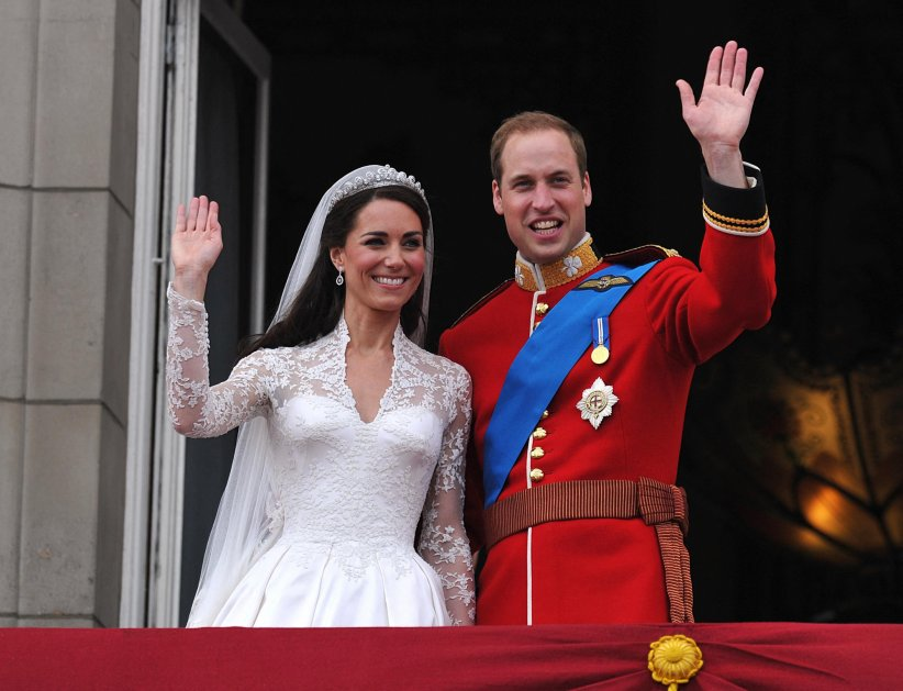 Le prince William et Kate Middleton : 33 millions d'euros