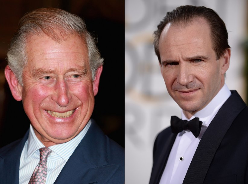 Le prince Charles cousin avec Lord Voldemort (aka Ralph Fiennes)