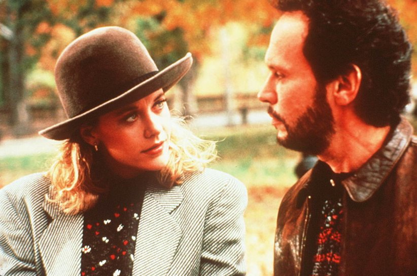 "Billy Crystal et Meg Ryan, ""Quand Harry rencontre Sally"" (1989)"