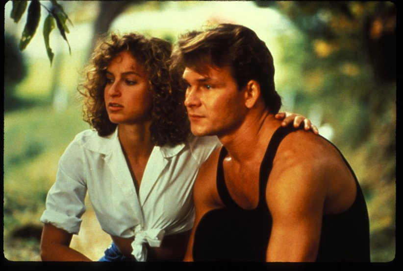 Jennifer Grey et Patrick Swayze dans Dirty Dancing