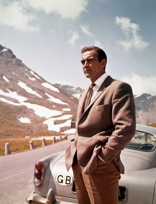 Sean Connery alias James Bond
