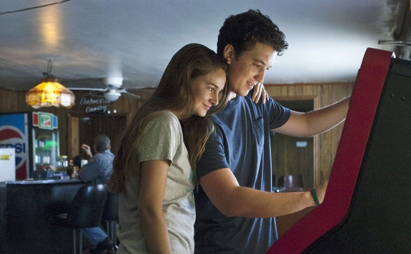 "Shailene Woodley et Miles Teller dans ""The Spectacular Now"""