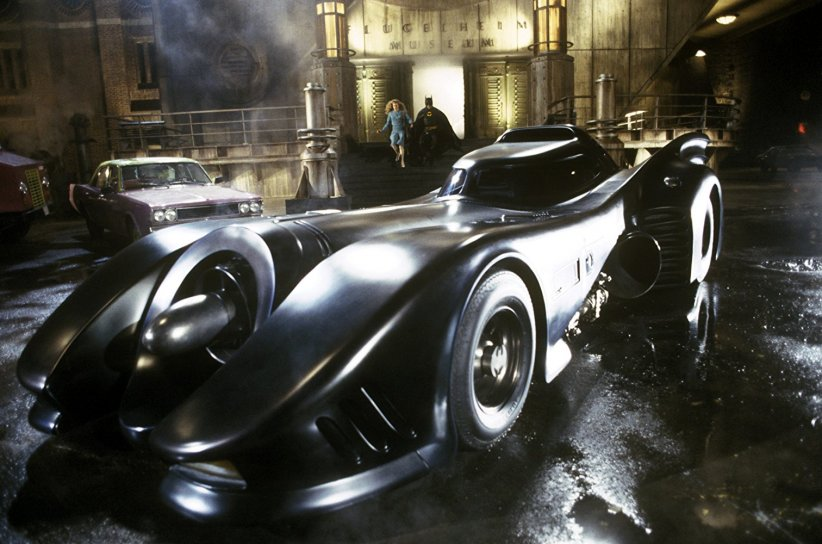 "La Batmobile du ""Batman"" de Tim Burton"