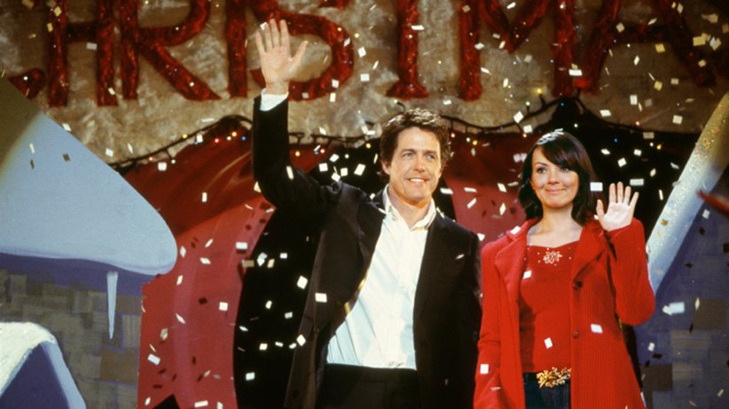 Hugh Grant et Martine McCutcheon dans Love Actually