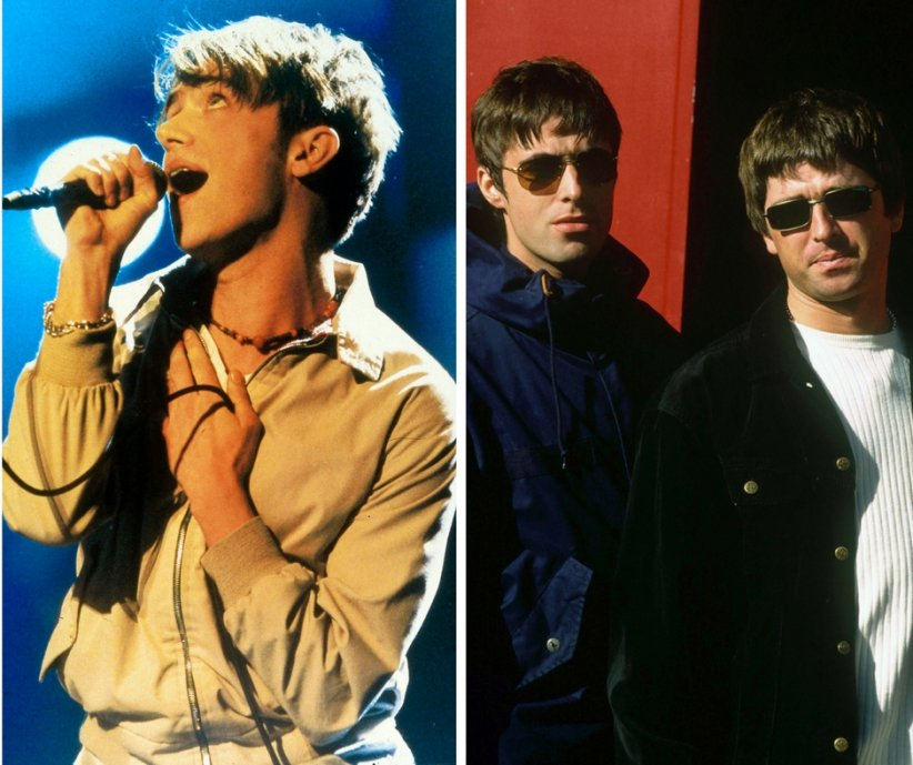 Blur / Oasis : middle class heroes vs lads